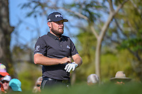 Tyrrell Hatton (ENG) looks over his tee shot on 3 during round 3 of the Arnold Palmer Invitational at Bay Hill Golf Club, Bay Hill, Florida. 3/9/2019.<br /> Picture: Golffile | Ken Murray<br /> <br /> <br /> All photo usage must carry mandatory copyright credit (© Golffile | Ken Murray)