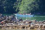 Tourists Viewing Los Haitises Park