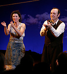 Eve Best, Kevin Spacey during Opening Night Performance Curtain Call of Eugene O'Neill's A MOON FOR THE MISBEGOTTEN at the Brooks Atkinson Theatre in New York City.<br />April 9, 2007