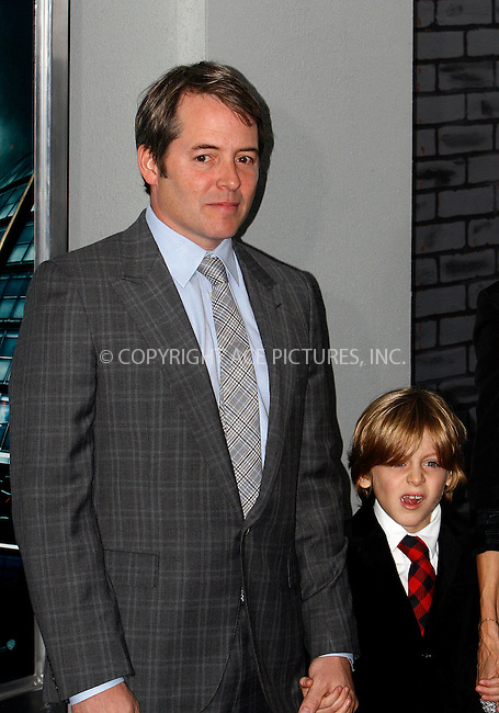 WWW.ACEPIXS.COM . . . . .  ....November 11 2010, New York City....Matthew Broderick and James Broderickat the premiere of 'Harry Potter and the Deathly Hallows - Part 1' at Alice Tully Hall on November 15, 2010 in New York City......Please byline: NANCY RIVERA- ACEPIXS.COM.... *** ***..Ace Pictures, Inc:  ..Tel: 646 769 0430..e-mail: info@acepixs.com..web: http://www.acepixs.com