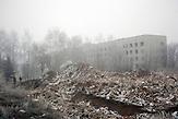 Artemiwsk nahe Debaltsewo nach dem Abkommen von Minsk zu Beginn des Waffenstillstandes, 15.02.2015/  Artemiwsknear Debaltseve after the  Minsk deal at the Begining of ceasefire_15.0 2.2014