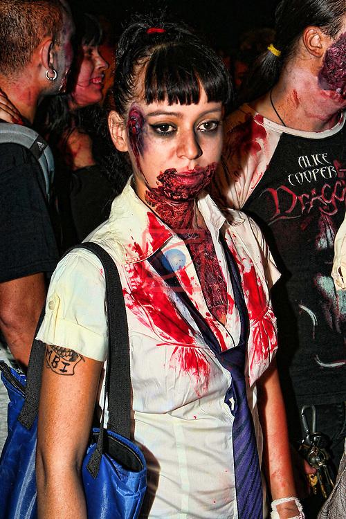 Zombie Walk. Sitges Film Festival 2011.
