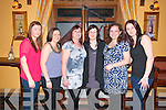 Birthday Party: Jenny Keane , Listowel celebrating her 27tth birthday with friends at Casa Mia's Restaurant, Listowel on Saturday night last, L-R: Jennifer Ryan, Rebecca Ryan, Selina Lynch, Jenny Keane, Denise Fitzgerald & Caroline O'Sullivan.
