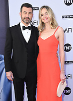 07 June 2018 - Hollywood, California - Jimmy Kimmel, Molly McNearney. American Film Institute' s 46th Life Achievement Award Gala Tribute to George Clooney held at Dolby Theater.  <br /> CAP/ADM/BT<br /> &copy;BT/ADM/Capital Pictures