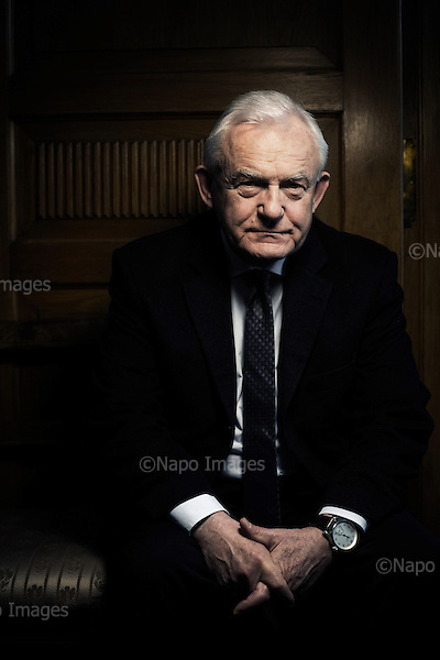 Warsaw 05.03.2015 Poland<br /> Leszek Miller, a Polish left-wing politician who served as Prime Minister of Poland from 2001 to 2004. He is the current leader of the Democratic Left Alliance.<br /> Photo: Adam Lach / Napo Images for Newsweek Polska<br /> <br /> Leszek Miller, premier w latach 2001 do 2004, szef lewicowej partii SLD<br /> Fot: Adam Lach / Napo Images dla Newsweek Polska