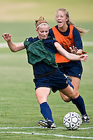 SAN ANTONIO, TX - AUGUST 15, 2007: The University of Texas at San Antonio Roadrunners Women's Soccer practice at the UTSA Soccer Field. (Photo by Jeff Huehn)