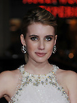 """HOLLYWOOD, CA. - February 08: Emma Roberts arrives at the """"Valentine's Day"""" Los Angeles Premiere at Grauman's Chinese Theatre on February 8, 2010 in Hollywood, California."""