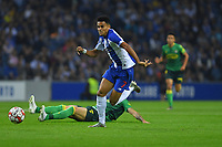27th October 2019; Dragao Stadium, Porto, Portugal; Portuguese Championship 2019/2020, FC Porto versus Famalicao; Luis Díaz of FC Porto breaks away in midfield