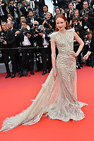 """CANNES, FRANCE. May 14, 2019: Barbara Meier at the gala premiere for """"The Dead Don't Die"""" at the Festival de Cannes.<br /> Picture: Paul Smith / Featureflash"""