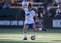 Seattle, WA - Saturday July 15, 2017: Angela Salem during a regular season National Women's Soccer League (NWSL) match between the Seattle Reign FC and the Boston Breakers at Memorial Stadium.