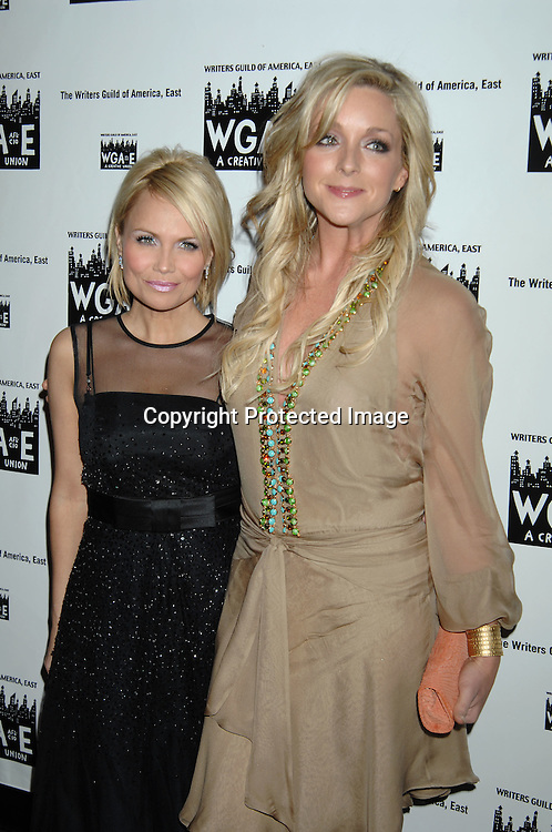 Kristin Chenoweth and Jane Krakowski..at The 59th Annual Writers Guild Awards on February 11, 2007 at The Hudson Theatre in New York City...Robin Platzer, Twin Images