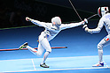 Kazuyasu Minobe (JPN), <br /> AUGUST 9, 2016 - Fencing : <br /> Men's Epee Individual Quarter-final <br /> at Carioca Arena 3 <br /> during the Rio 2016 Olympic Games in Rio de Janeiro, Brazil. <br /> (Photo by YUTAKA/AFLO SPORT)