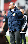 Tony Mowbray manager of Coventry City - English League One - Sheffield Utd vs Coventry City - Bramall Lane Stadium - Sheffield - England - 13th December 2015 - Pic Simon Bellis/Sportimage-