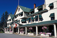 hotel, Jackson, NH, New Hampshire, The Wentworth Resort Hotel in the town of Jackson.