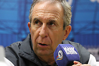 BOGOTA - COLOMBIA, 23-01-2018:Conferencia de prensa ofrecida por Gerardo Pelusso director técnico del Deportivo Cali  al finalizar el encuentro contra el Deportivo Cali , partido por el Torneo Fox Sports 2018 jugado en el estadio Nemesio Camacho El Campin de la ciudad de Bogotá. /Press conference offered by Gerardo Pelusso coach of Deportivo Cali at the end of the match against Deportivo Cali ,match for the Fox Sports Tournament 2018  played at Nemesio Camacho El Campin Stadium in Bogota city. Photo: VizzorImage / Felipe Caicedo / Staff.