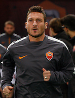 Francesco Totti  during the Italian Serie A soccer match between   AS Roma and Juventus FC       at Olympic Stadium      in Rome ,March 02 , 2015