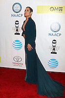 LOS ANGELES - FEB 11:  Grace Gealey Byers at the 48th NAACP Image Awards Arrivals at Pasadena Conference Center on February 11, 2017 in Pasadena, CA