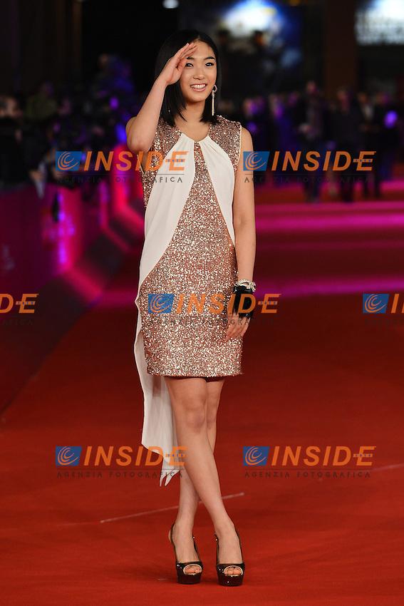 """Actress Erina Mizuno - movie """"Aku no kyoten / Lesson of Evil"""".Roma 9/11/2012 Auditorium.Festival del Cinema di Roma.Foto Andrea Staccioli Insidefoto"""