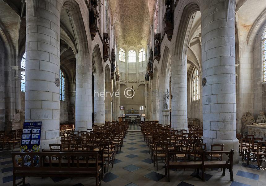 France, Yonne (89), Joigny, église Saint-Jean // France, Yonne, Joigny, Saint-Jean church