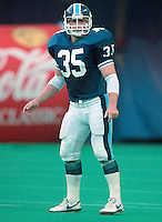 Bruce Elliot Toronto Argonauts 1991. Photo Scott Grant