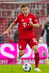 09.11.2019, Allianz Arena, Muenchen, GER, 1.FBL,  FC Bayern Muenchen vs. Borussia Dortmund, DFL regulations prohibit any use of photographs as image sequences and/or quasi-video, im Bild Joshua Kimmich (FCB #32) <br /> <br />  Foto © nordphoto / Straubmeier