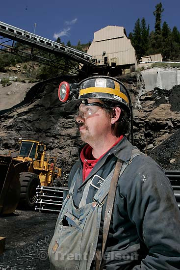 Huntington - Robert Murray, president and CEO of Ohio-based Murray Energy Corp, led reporters on a tour of the Crandall Canyon coal mine Wednesday, where six miners remained trapped. miner Paul Gilbert