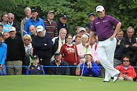 Shane Lowry (IRL) on the 15th green during Day 1 Thursday of The Irish Open presented by Discover Ireland at Killarney Golf & Fishing Club on 28th July 2011 (Photo Fran Caffrey/www.golffile.ie)