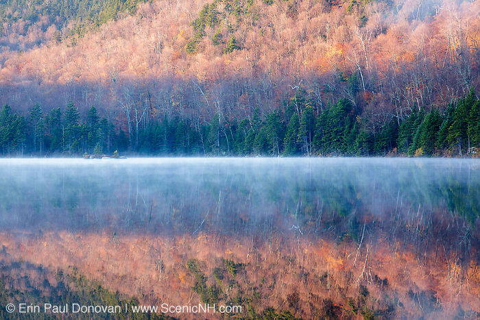 Sandwich Notch - Hall Ponds during the autumn months in Sandwich, New Hampshire USA.