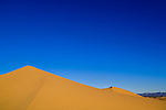 Sand dunes in morning light, North Algodones Dunes Wilderness, Imperial County, California