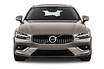 Car photography straight front view of a 2019 Volvo V60 Inscription 5 Door Wagon