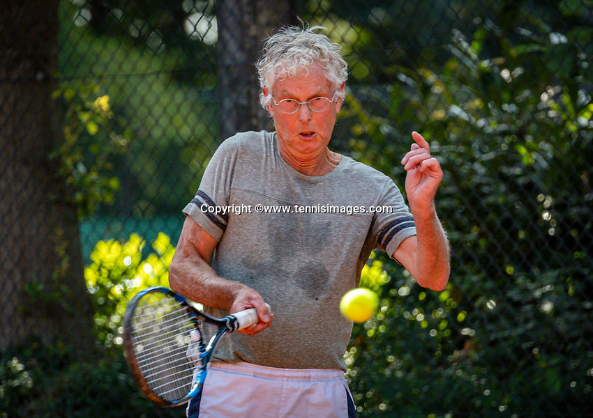 Hilversum, The Netherlands,  August 23, 2019,  Tulip Tennis Center, NSK, Kees van der Wild (NED)<br /> Photo: Tennisimages/Henk Koster