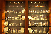 AJ0967, Europe, Crystal, Republic of Ireland, Ireland, Waterford, The South, Beautiful crystal glassware is displayed at the Factory Store inside the Waterford Crystal Factory in County Waterford.