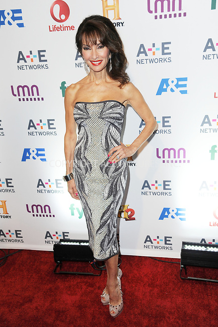 WWW.ACEPIXS.COM<br /> May 8, 2014 New York City<br /> <br /> Susan Lucci attending the A+E Networks 2014 Upfronts at the Park Avenue Armory on May 8, 2014 in New York City.<br /> <br /> Please byline: Kristin Callahan<br /> <br /> ACEPIXS.COM<br /> <br /> Tel: (212) 243 8787 or (646) 769 0430<br /> e-mail: info@acepixs.com<br /> web: http://www.acepixs.com