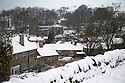 21/01/15<br /> <br /> Hartington, Derbyshire.<br /> <br /> More than 20 schools in Derbyshire were closed today following overnight snowfall that continued into the morning across the Peak District.<br /> <br /> All Rights Reserved - F Stop Press.  www.fstoppress.com. Tel: +44 (0)1335 300098