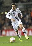 Tottenham's Nabil Bentaleb in action<br /> <br /> UEFA Europa League - Tottenham Hotspur v Monaco - White Hart Lane - England -10th December 2015 - Picture David Klein/Sportimage