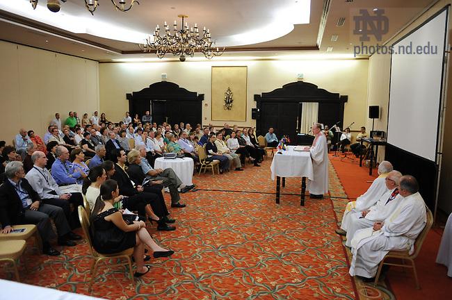 Latin American & Caribbean reunion, 2008: Closing Mass..Photo by Matt Cashore/University of Notre Dame