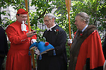 Knollys Rose Ceremony, City of London UK. 2012