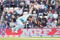 Mark Wood (England)in action during England vs West Indies, ICC World Cup Cricket at the Hampshire Bowl on 14th June 2019