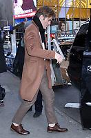 JAN 21 Chris Pine seen at Good Morning America