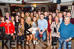 Shane O'Connor, Farmer Bridge Tralee, celebrates his 21st Birthday with family and friends at Benners on Saturday