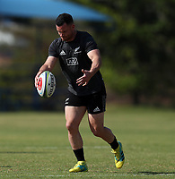 PRETORIA, SOUTH AFRICA - OCTOBER 05: Ryan Crotty of the New Zealand (All Blacks) during the Rugby Championship New Zealand All Blacks captain's run at St David's Marist Inanda 36 Rivonia Rd, Sandown, Sandton, on October 5, 2018 in Pretoria, South Africa. Photo by Steve Haag / stevehaagsports.com