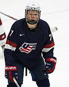 Brady Tkachuk (NTDP - 7) - The Harvard University Crimson defeated the US National Team Development Program's Under-18 team 5-2 on Saturday, October 8, 2016, at the Bright-Landry Hockey Center in Boston, Massachusetts.