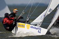 Medemblik - the Netherlands, May 30th 2009. Delta Lloyd Regatta in Medemblik (27/31 May 2009). Day 4.