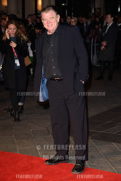 Brendan Gleeson at the BFI London Film Festival premiere of &quot;Suffragette&quot; at the Odeon Leicester Square, London.<br /> October 7, 2015  London, UK<br /> Picture: Steve Vas / Featureflash