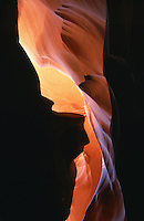 .Antelope Canyon - sandstone 'slot' canyon, Arizona, USA...