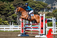 Class 9: T&M Nurseries Pony 1.05-1.10m. 2020 NZL-Collinson Forex Premier Show Jumping At Woodhill Sands. Helensville. Saturday 11 January. Copyright Photo: Libby Law Photography