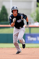 Syracuse Chiefs Boomer Whiting during a game vs. the Buffalo Bisons at Coca-Cola Field in Buffalo, New York;  June 3, 2010.  Syracuse defeated Buffalo 7-1.  Photo By Mike Janes/Four Seam Images