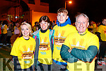 Ann-Marie McMahon, Lilian McMahon, Donagh McMahon and Brendan, McMahon, Tralee, pictured at the Darkness Into Light walk, Tralee, on Saturday last.