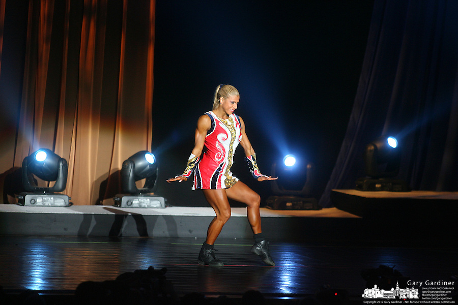 Fitness International  from rear of Veterans Memorial at 2008 Arnold Sports Festival. Photo Copyright Chris Putman..