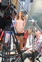 June 11, 2012: Maria Menounos on the set of tv's Extra in New York City. © RW/MediaPunch Inc. NORTEPHOTO.COM<br />